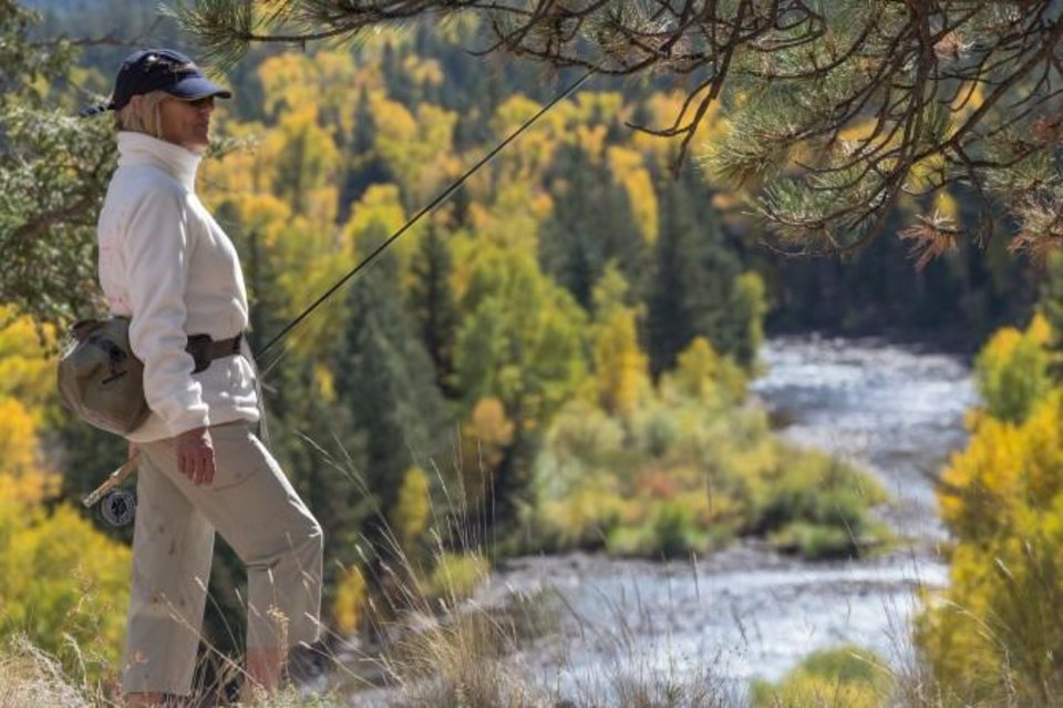 Photo -  Sisters on the Fly, an outdoors adventure group for women, will host a fly fishing seminar at Cabela's on Friday.
