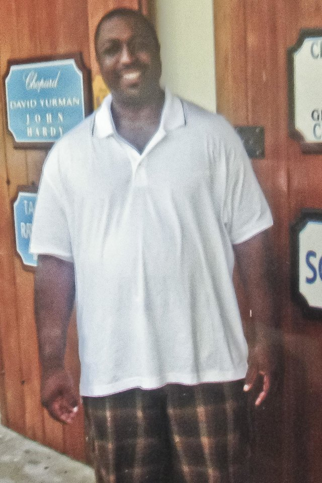 Photo - This undated family photo provided by the National Action Network, Saturday, July 19, 2014, shows Eric Garner. Garner was confronted by police trying to arrest him on suspicion of selling untaxed, loose cigarettes on a Staten Island sidewalk, authorities said. The 6-foot-3, 350-pound Garner became irate, denying the charges and refusing to be handcuffed before one of the officers placed him in what Police Commissioner William Bratton said appeared to be a chokehold, according to partial video of the encounter obtained by the New York Daily News. (AP Photo/Family photo via National Action Network)
