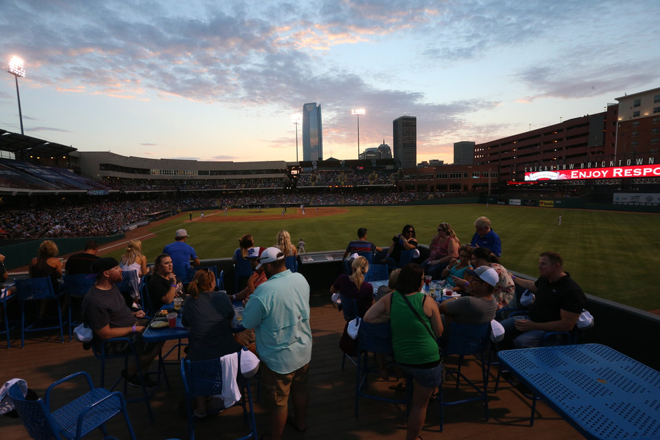 Photo - Families enjoying one of last year's games. Photo OKC Dodgers.