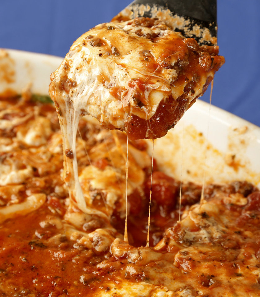 Lasagna.  Photo by Doug Hoke, The Oklahoman <strong>DOUG HOKE - THE OKLAHOMAN</strong>