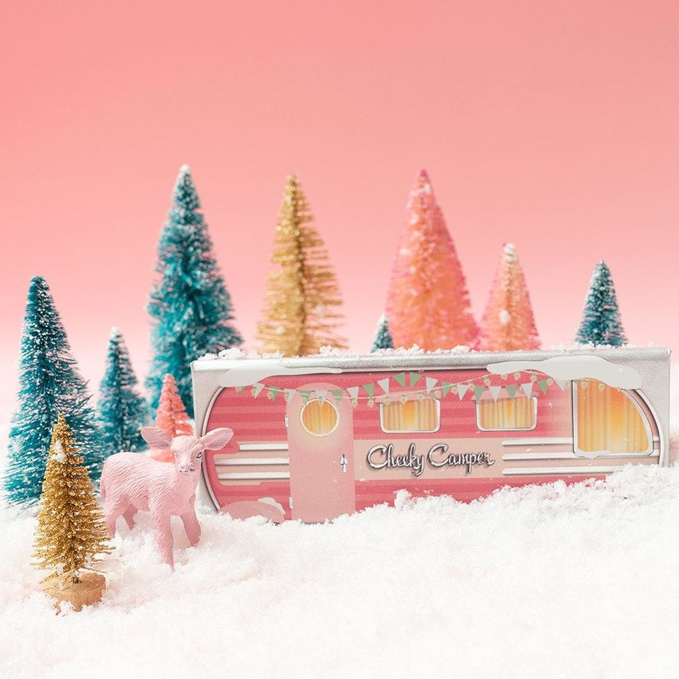 Photo - Benefit Cheeky Camper limited-edition holiday gift set.