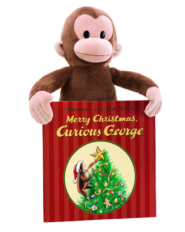Photo - CHRISTMAS GIFT: Curious George books and plush toys are on sale for $5 each as part of Kohl's Cares for Kids holiday program.  ORG XMIT: 0811201803221749