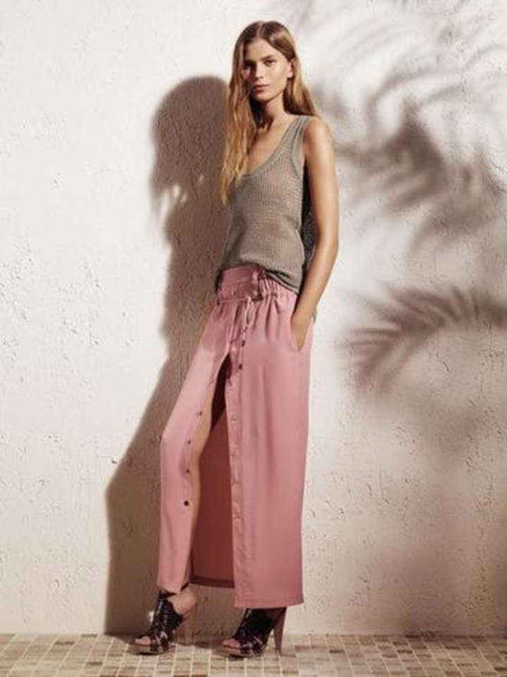 Knit tank, $40, and drawstring skirt, $54, from Derek Lam for Kohl's.