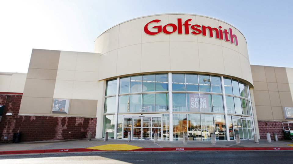 Photo - Golfsmith will open soon at 2120 W Memorial Road in the former Ultimate Electronics.