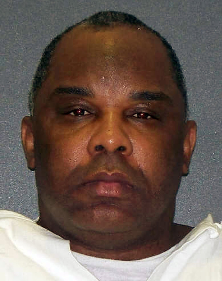 File - This undated file photo provided, June 30, 2010, by the Texas Department of Criminal Justice shows Jonathan Green. A federal judge on Monday blocked this week\'s scheduled execution of Green who is condemned for the 2000 abduction, rape and strangling of a 12-year-old Christina Neal. U.S. District Judge Nancy Atlas ruled Monday that attorneys for Green weren\'t properly allowed at a state competency hearing to present testimony from mental health professionals who treated him. (AP Photo/Texas Department of Criminal Justice, File)