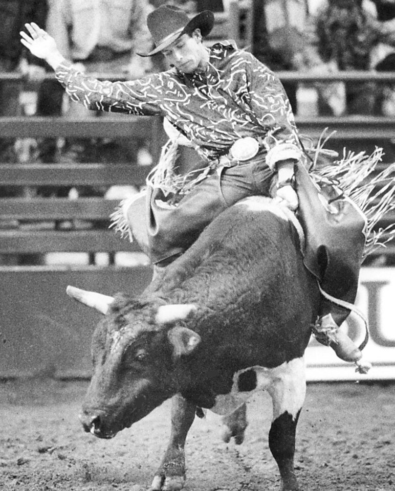Photo - Lane Frost, deceased bull rider