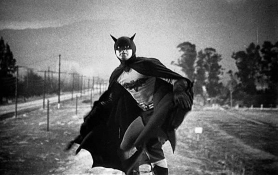 Photo - Robert Lowery as Batman in the serial