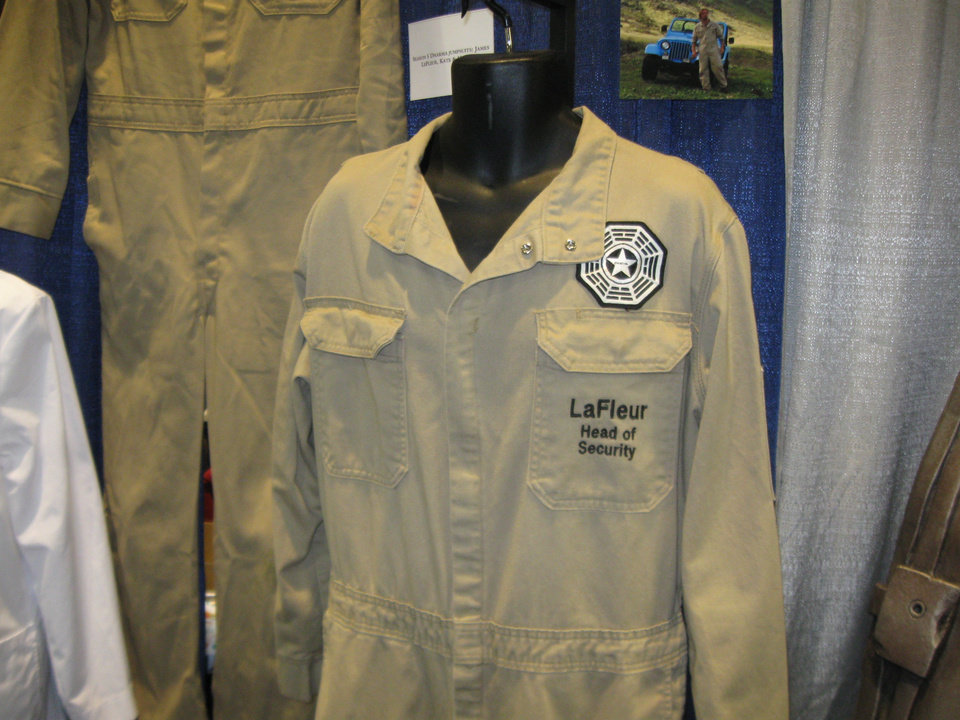 Sawyer's jumpsuit at the Dharma Initiative