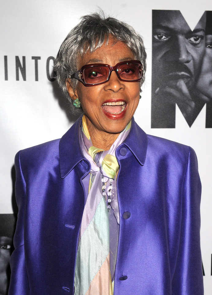 Photo - FILE - In this Oct. 13, 2011 file photo, actress Ruby Dee attends the Broadway premiere of