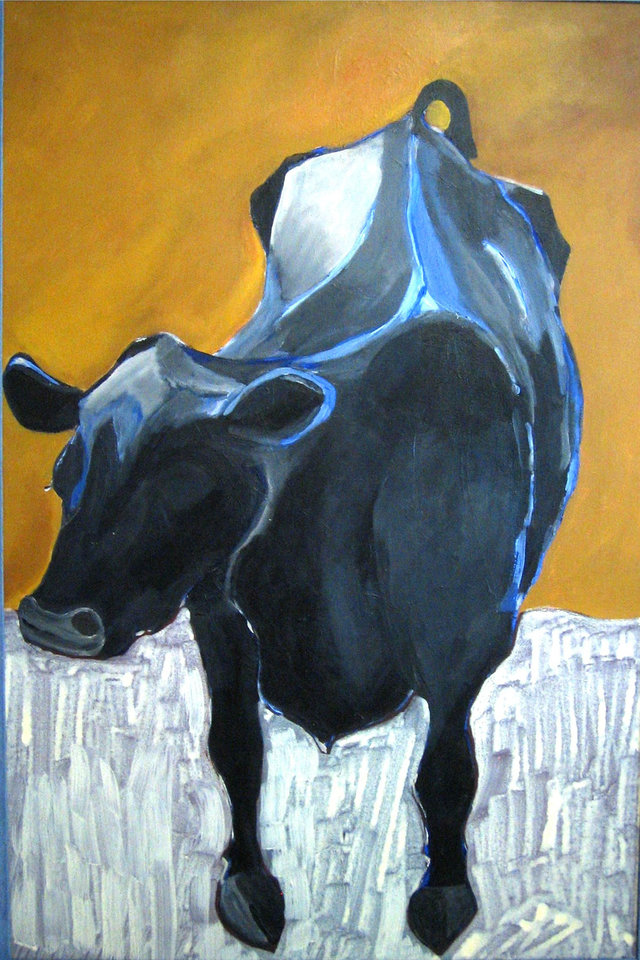 """The Cow"" by Gregory Main. Photo provided"