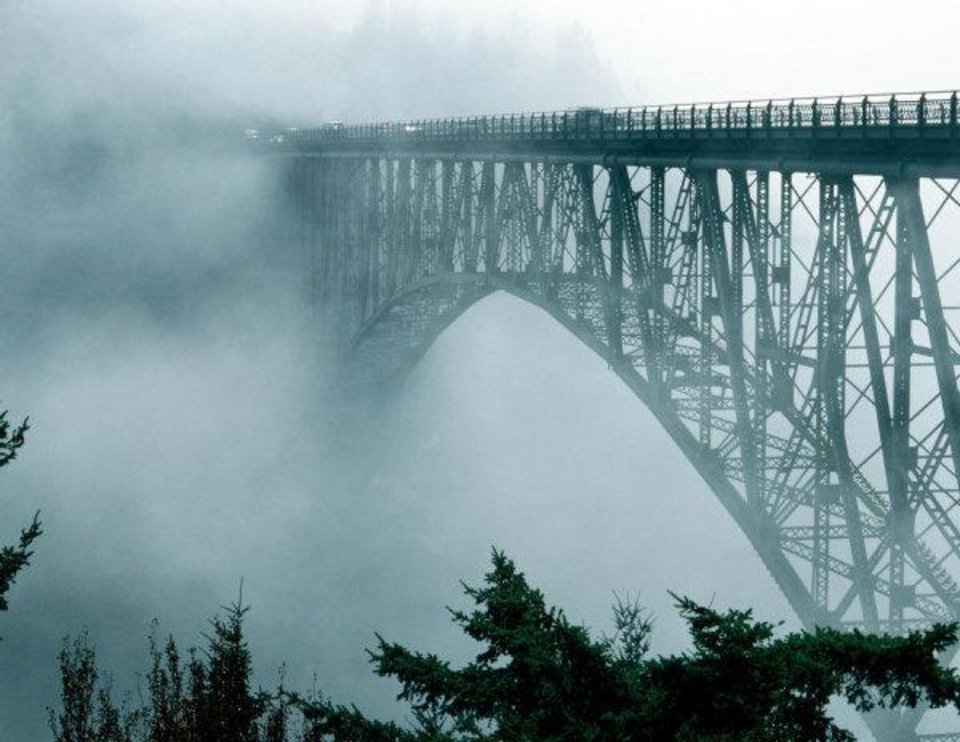 Photo - A spooky bridge is the focus of the wanderings of ghost Amelia in the new novel