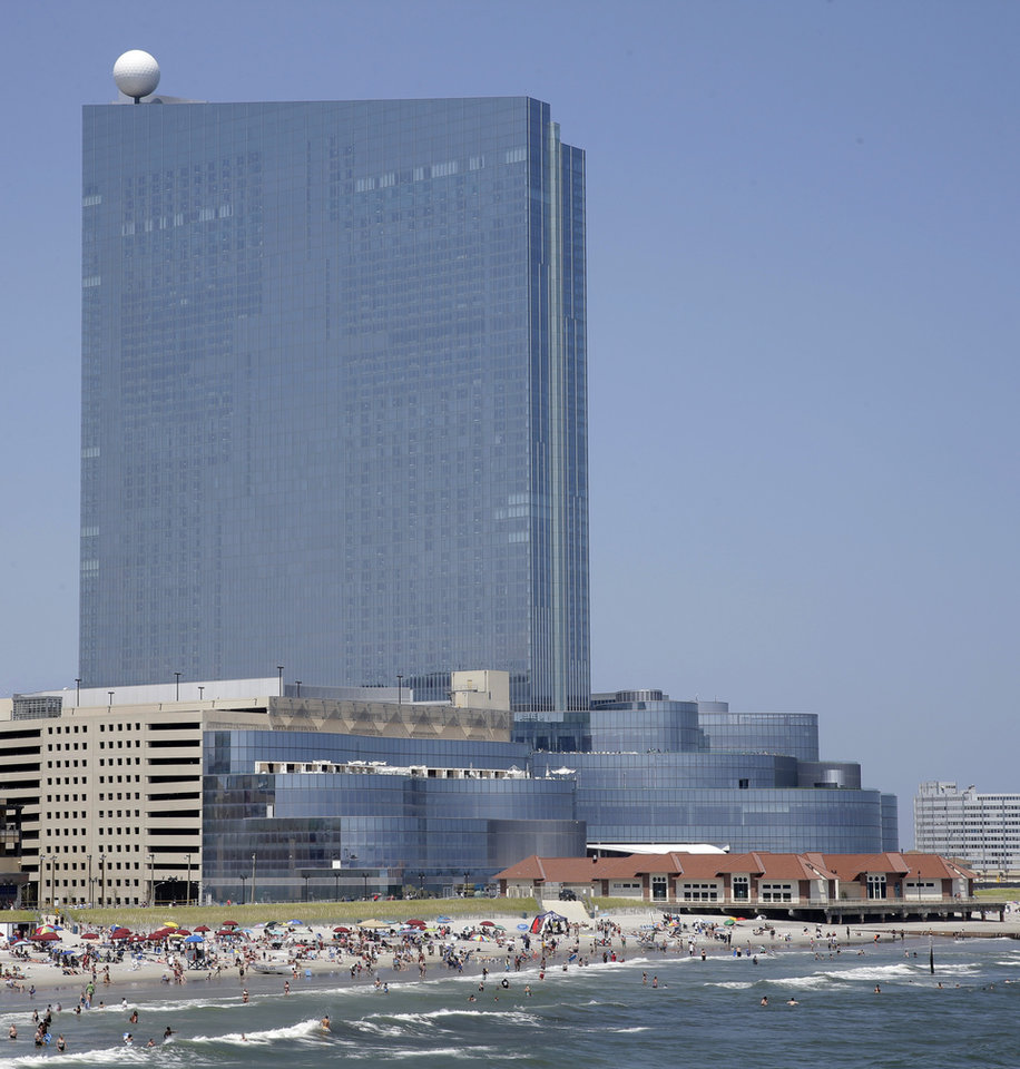 Photo - In this Wednesday July 23, 2014 photograph, the Revel Casino Hotel is seen in Atlantic City, N.J. The Revel Casino Hotel will close its doors on Sept. 10, 2014 after failing to find a buyer in bankruptcy court, company officials announced Tuesday, Aug. 12, 2014. (AP Photo/Mel Evans)