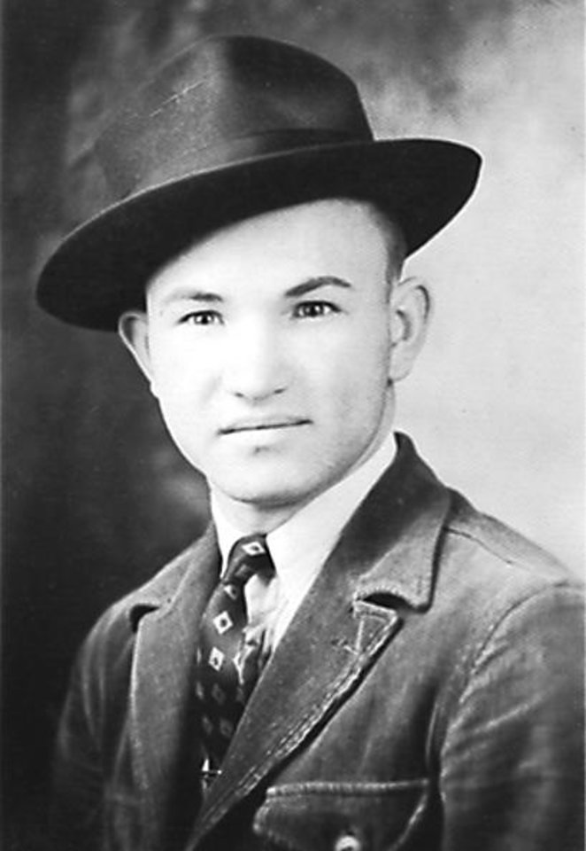 Photo -  Dick Lutz in a 1939 photo.