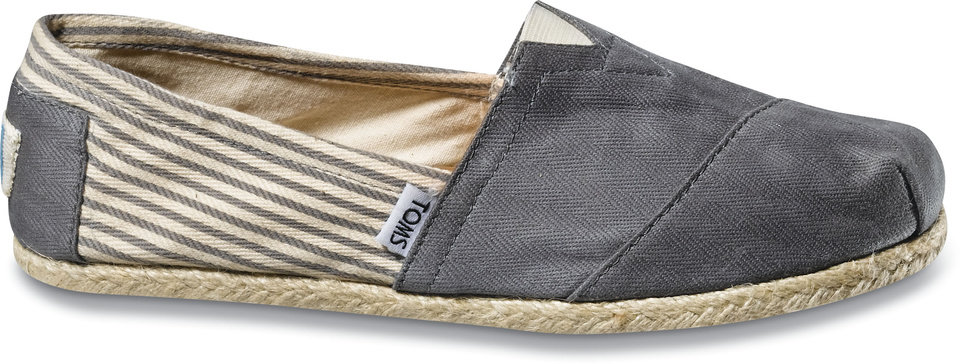 Photo -  TOMS Shoes. The style is based on an old Argentine shoe. They come in several different colors and patterns.