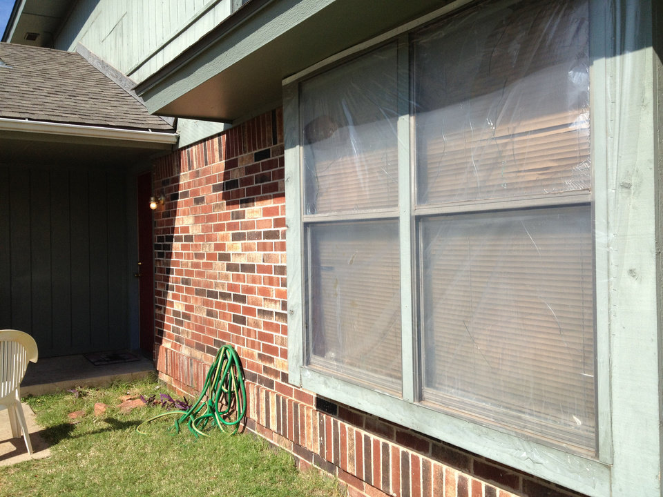 Police were called at 11:45 p.m. Saturday, Oct. 20,2012 to 9409 Eagle Hill Drive in northwest Oklahoma City after a man was found shot to death on a couch inside the home. Windows at the home were broken out on the Friday before the homicide, a neighbor said.  <strong>Juliana Keeping</strong>