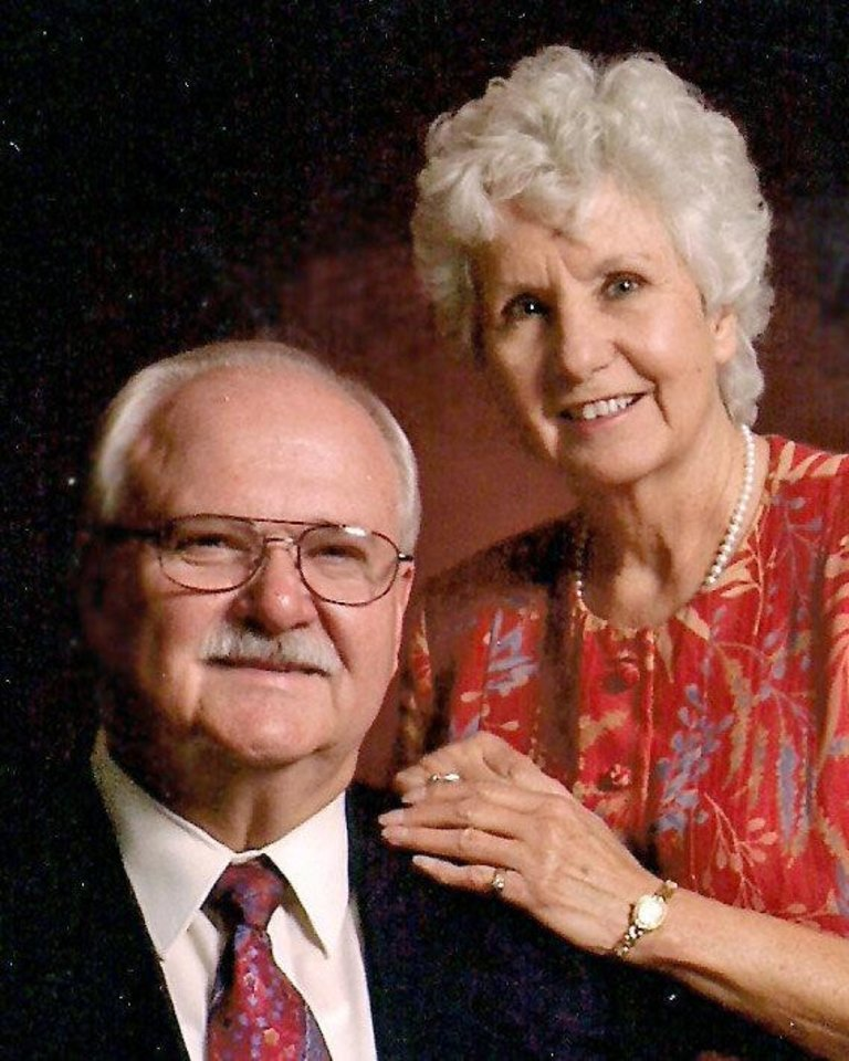 Photo - Bill and Marie Mayo, of Edmond, were married July 16, 1962, in Oklahoma City.