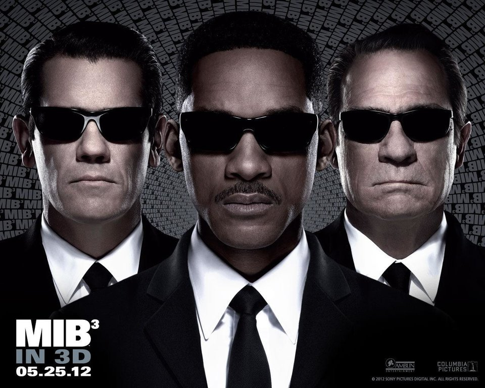 Photo - From left, Josh Brolin, Will Smith and Tommy Lee Jones star in Columbia Pictures'