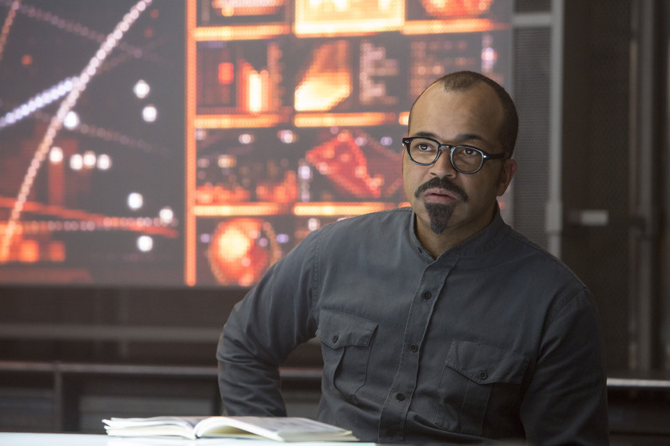 Photo - This photo released by Lionsgate shows Jeffrey Wright as Beetee, in a scene from the film,