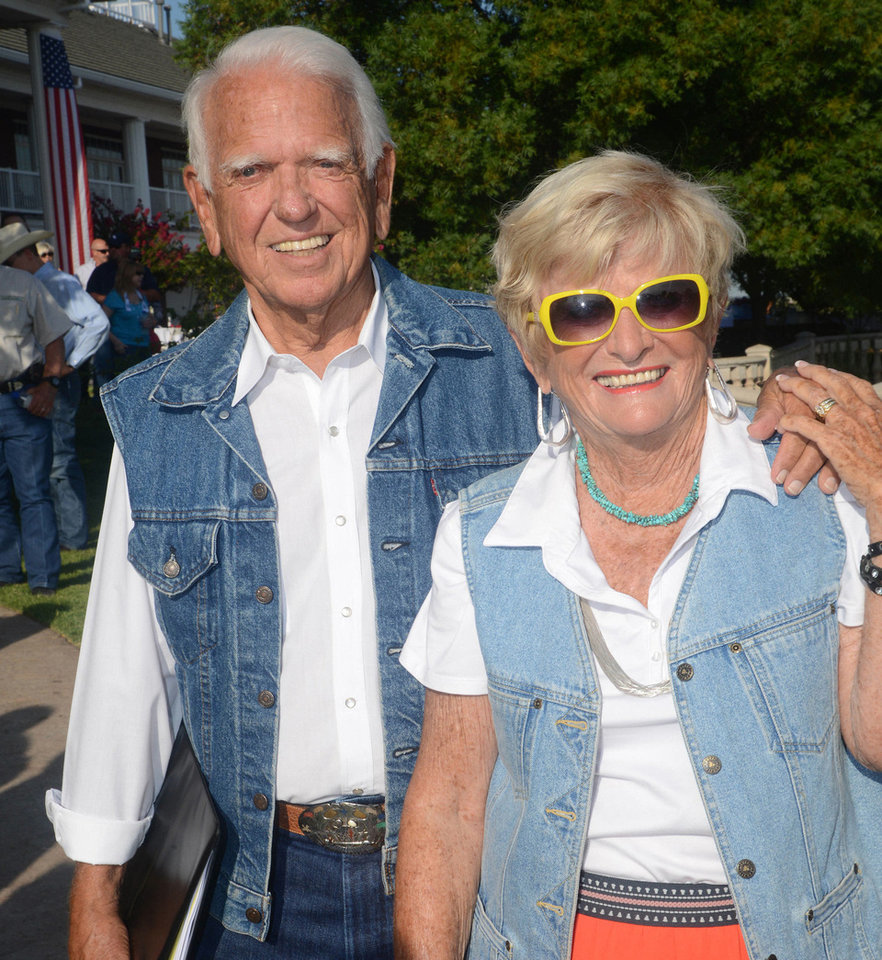 Photo - George and Donna Nigh. Photo by David Faytinger, for the Oklahoman