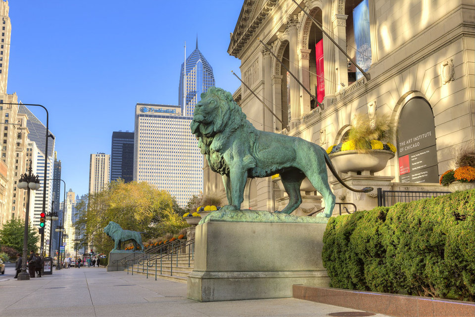 Photo -  The Art Institute of Chicago is home to some of the world's most famous paintings, including