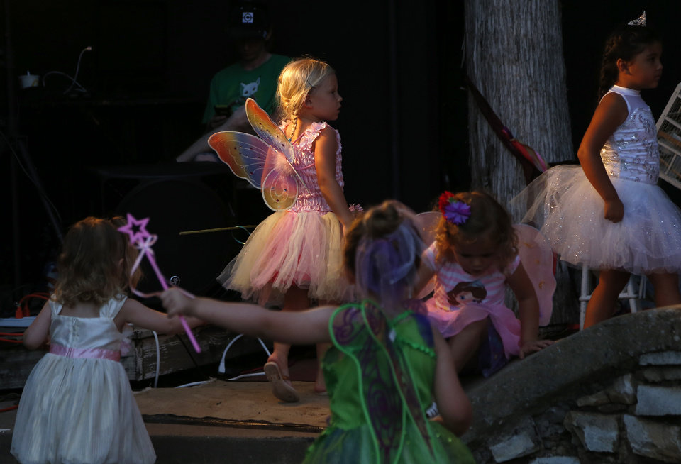 Photo -  Children dance at last year's Fairy Ball at First Christian Church in Oklahoma City. The ball is sponsored by Paseo Arts Association, Theatre Upon a StarDanceSwan and the Oklahoma Arts Council. [Photo by Sarah Phipps, The Oklahoman Archives]
