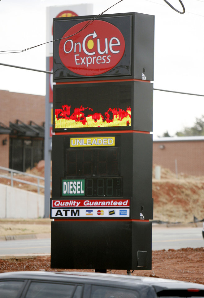 Photo -  OnCue Express is set to open its first store in the urban core on a site previously eyed for a mix of residential and retail development. [Photo by Paul Hellstern, The Oklahoman]