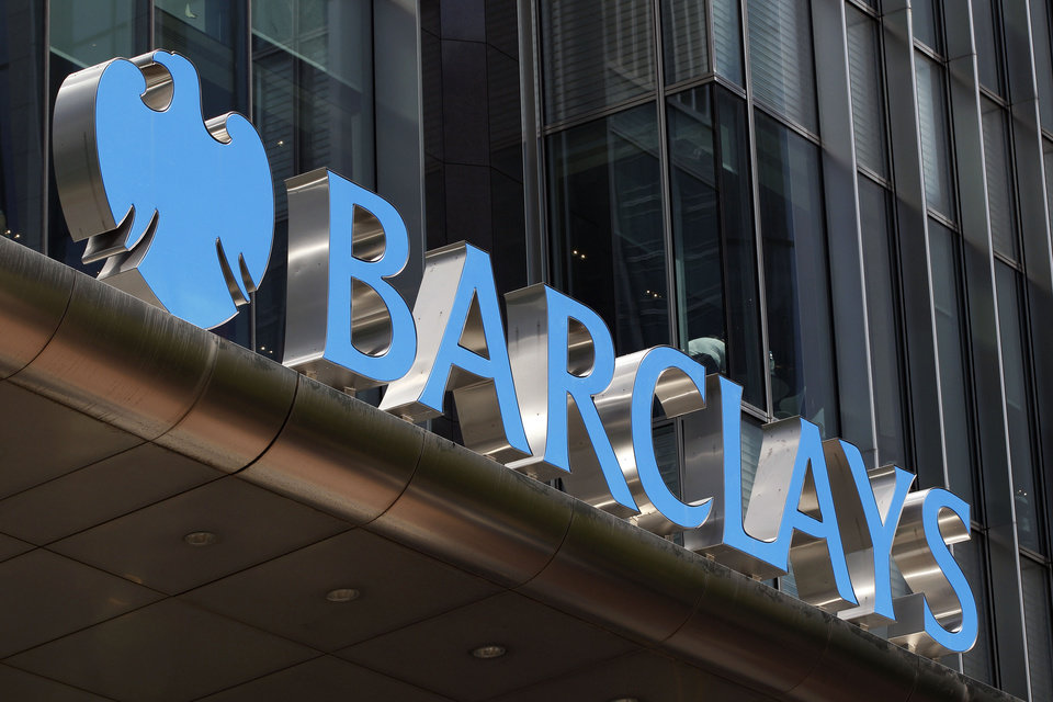 Photo -   A view of Barclay's headquarter at London's Canary Wharf financial district, Thursday, June 28, 2012. Barclays PLC and its subsidiaries will pay about 453 million US dollars to settle charges that they tried to manipulate interest rates that can affect how much people pay for loans to attend college or buy a house. Britain's Barclays is one of several major banks reportedly under investigation for such violations. (AP Photo/Lefteris Pitarakis)