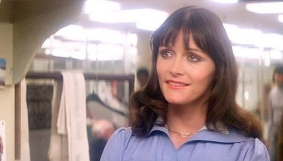 Photo -  Margot Kidder as Lois Lane.