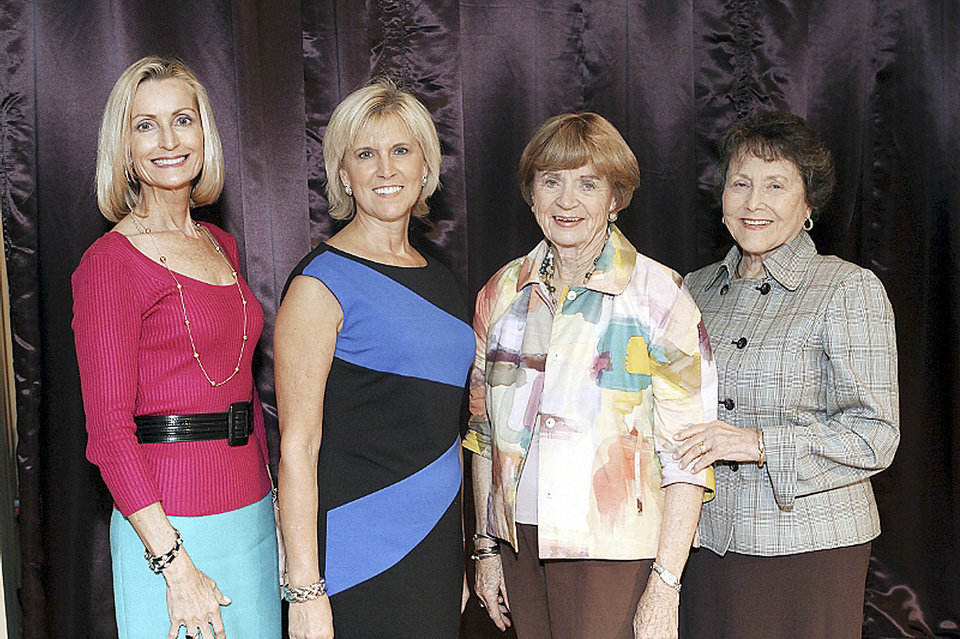 Photo - Penny Voss, Donna Lawrence, Kay Goebel, Pat Potts. PHOTO PROVIDED