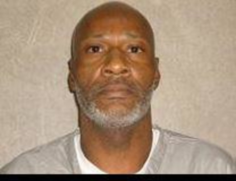 Photo -   John Marion Grant , now 56, was sentenced to die for murdering a civilian cafeteria worker in 1998 at the Dick Conner Correctional Center near Hominy. The woman was stabbed 16 times. Grant was in prison for a series of armed robberies. His execution was stayed in October 2015.