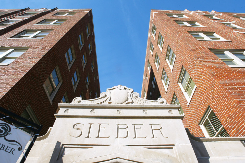 The Sieber Hotel is shown Jan. 19 in Oklahoma City. Photo BY PAUL B. SOUTHERLAND, THE OKLAHOMAN