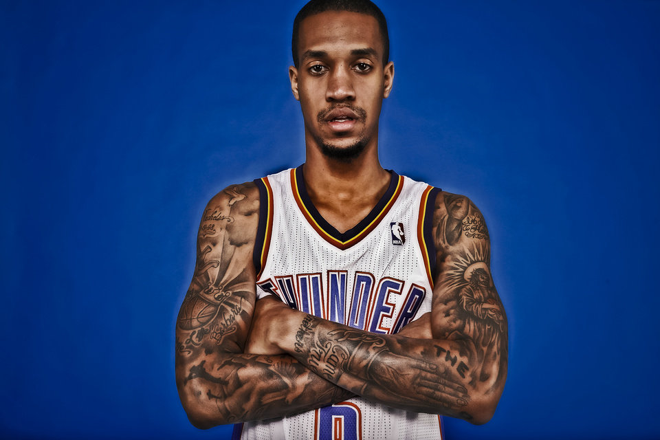 Photo - The Thunder's Eric Maynor is a solid backup point guard. Photo by Chris Landsberger, The Oklahoman
