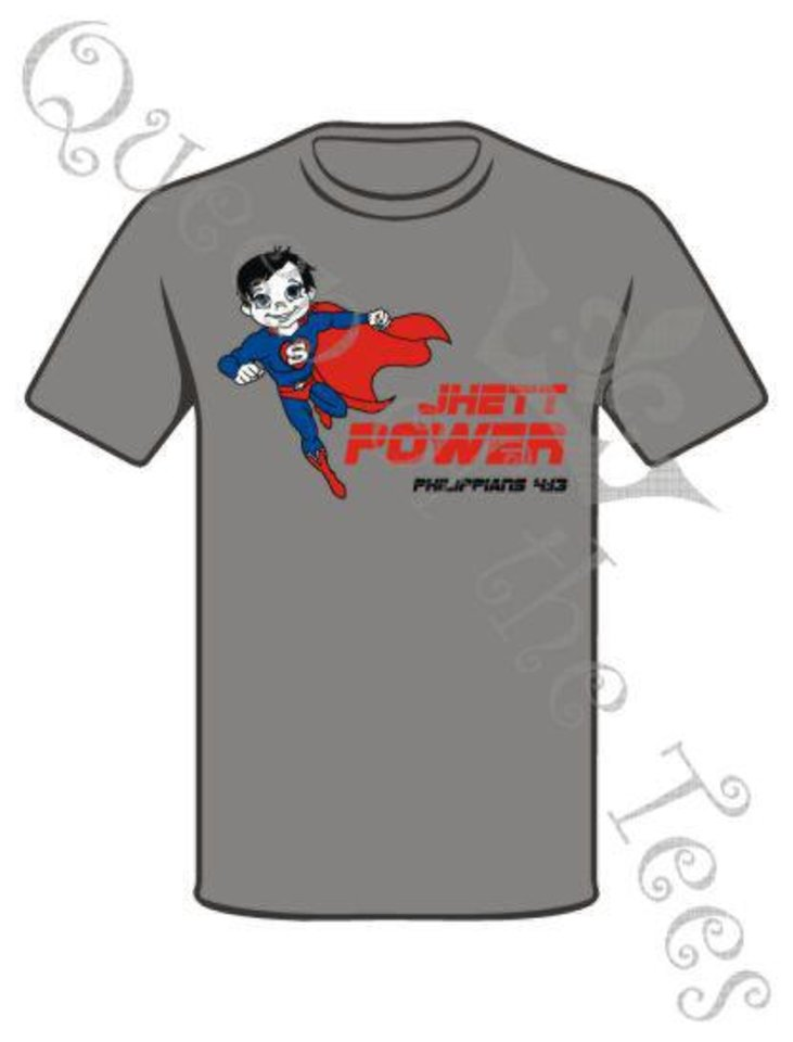 This is the design for the T-shirts being sold to benefit the Skaggs family of Lexington. Photo provided. <strong>Robin</strong>