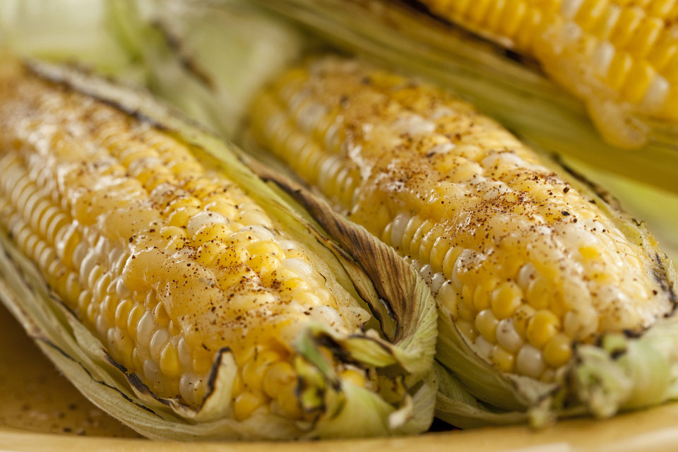 Photo - Grilled corn is an Oklahoma tradition   - PROVIDED