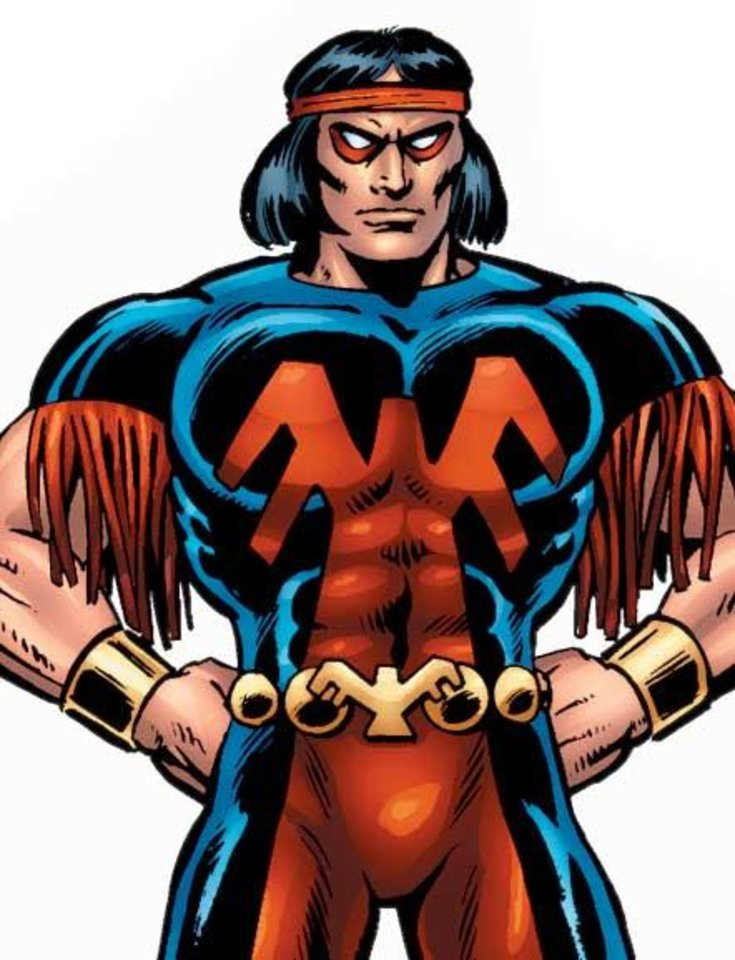 Photo - Thunderbird was also an American Indian superhero for Marvel Comics.