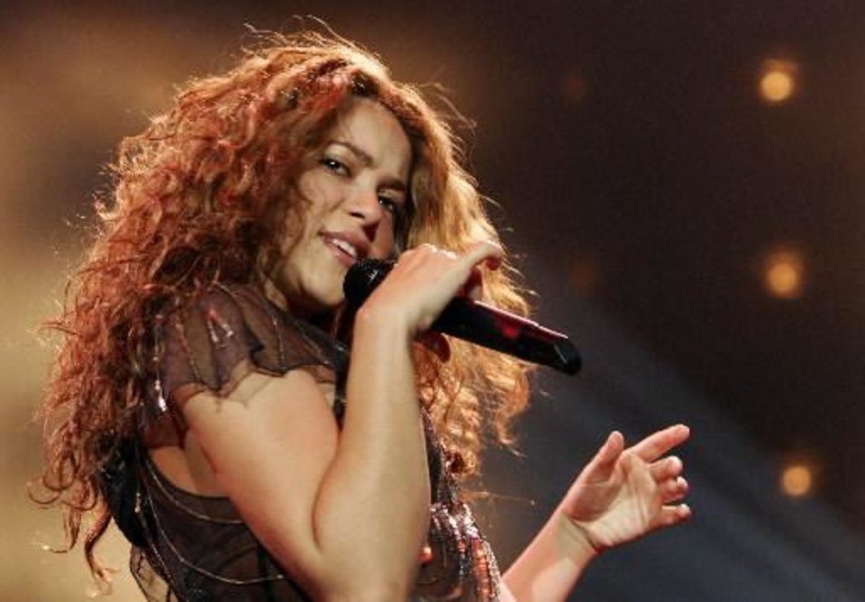 Photo -  Shakira (AP file)