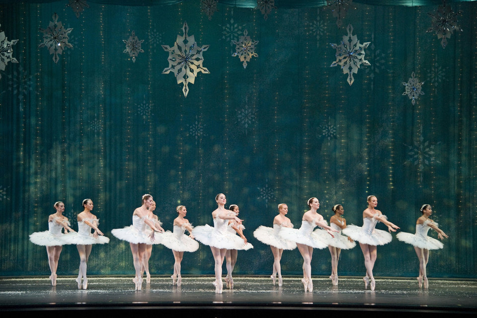 "The snow scene from ""The Nutcracker""   Photo provided <strong>Photo provided</strong>"