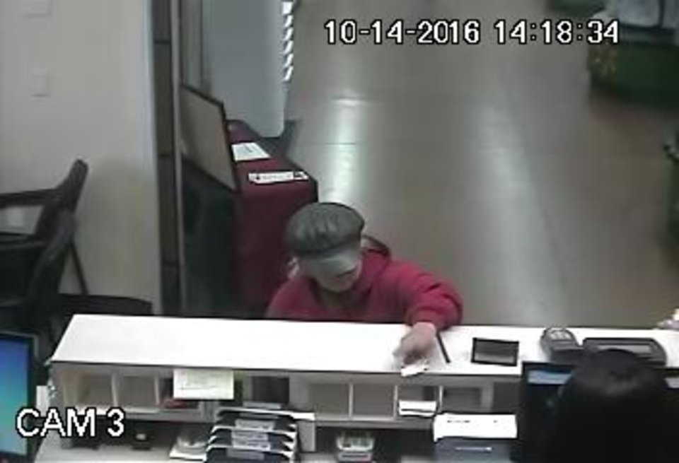 Photo -  Authorities are searching for a woman they said robbed a southwest Oklahoma City bank Friday afternoon.