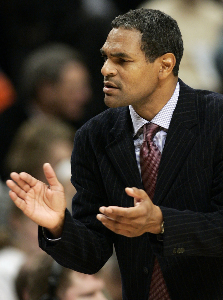 ** FILE ** Philadelphia 76ers basketball team head coach Maurice Cheeks claps during the third quarter of an NBA basketball game against the Chicago Bulls, in Chicago, in this Nov. 2, 2007 file photo. Nearly 25 years after Maurice Cheeks was an All-Star point guard who led the Philadelphia 76ers to an NBA title, he's ready to take them back to the postseason again.  (AP Photo/Jerry Lai, file) ORG XMIT: NY154