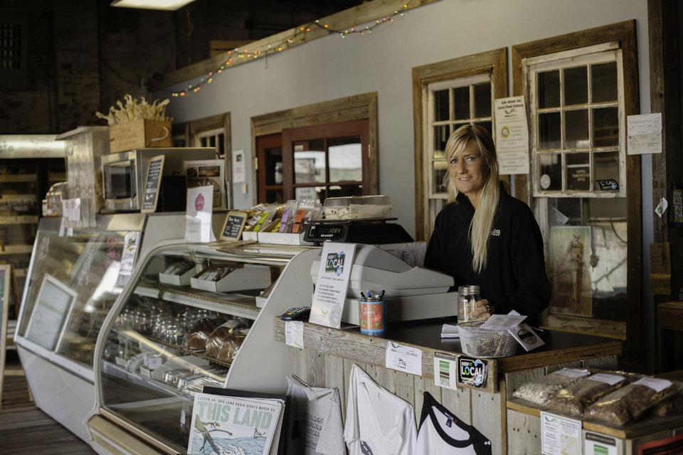 The inside of the Urban Agrarian in Oklahoma City is shown. Photo provided