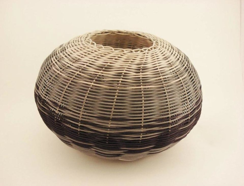 Basket by artist Andrea Kissinger. Photo provided