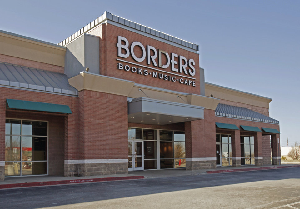 Borders Book store on Tuesday, Jan. 17, 2012, in Norman, Okla.   The building has been purchased by the Norman Public Library System.  Photo by Steve Sisney, The Oklahoman