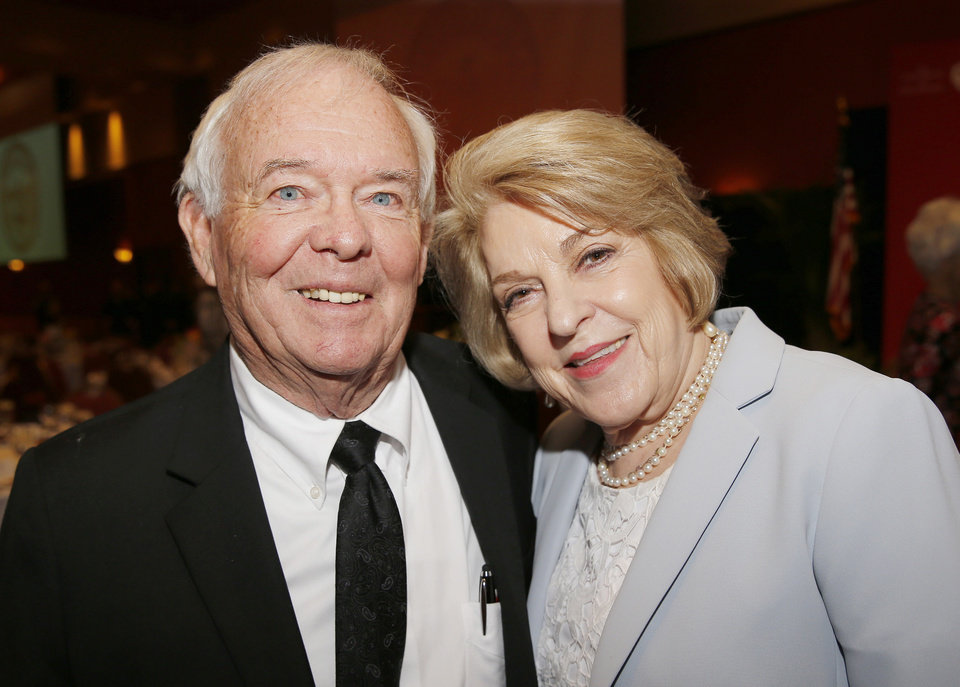 Photo - Dave and Judi Proctor. PHOTO BY SARAH PHIPPS, THE OKLAHOMAN