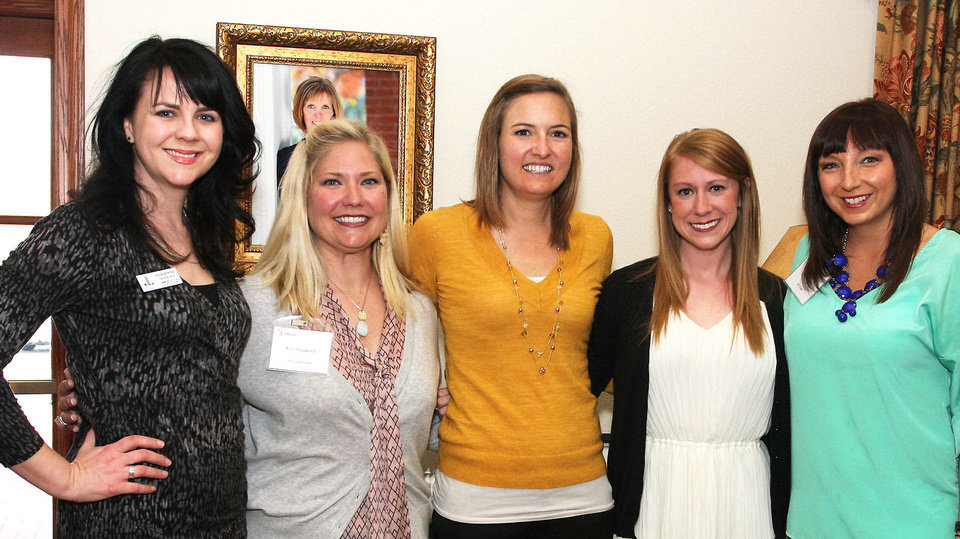 Photo - Adrienne Nobles, Kelli Hayward, Randis Gallaway, Laura Parrish, Blair Bradley.