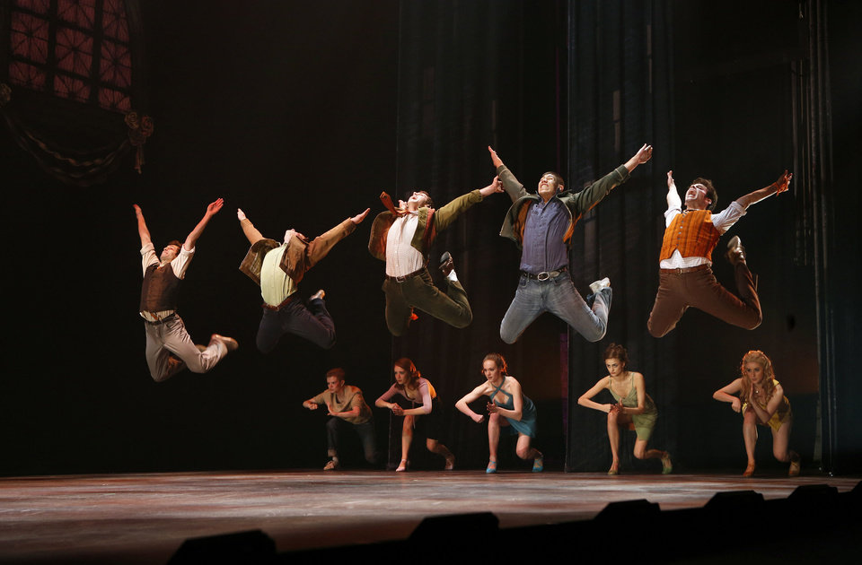"Members of ""The West Side Story"" company   Photo by Carol Rosegg <strong>Photo by Carol Rosegg</strong>"