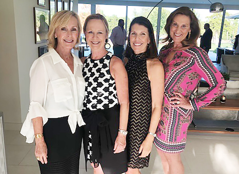 Photo - Theresa Stringer, LaRue Stoller, Julie Hall, Sandy Ellis. PHOTO PROVIDED