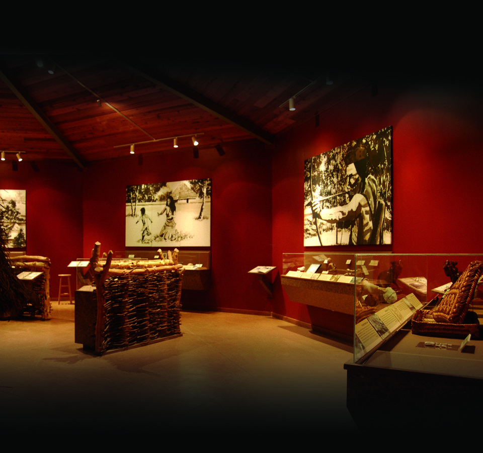 Photo - The interior of the Spiro Mounds Archaeological Center is shown. PHOTO PROVIDED