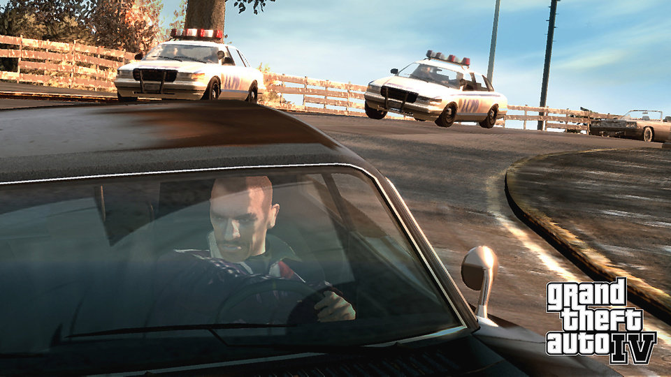 Photo - A scene from Grand Theft Auto IV. AP PHOTO