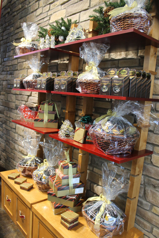 Bedre products are displayed at the retail store at the new Chickashaw Nation Welcome Center. PROVIDED PHOTO <strong></strong>