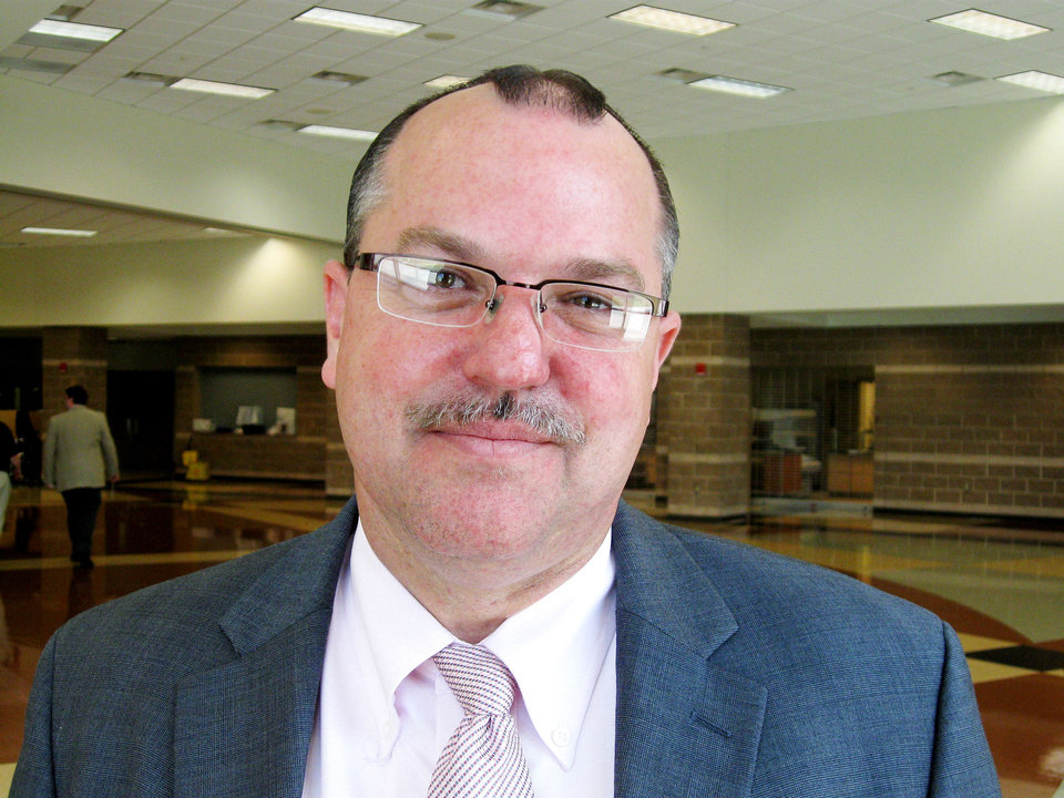 Brian Staples, principal at Douglass High School <strong>DAWN MARKS</strong>